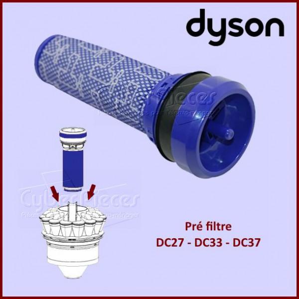 pre filtre dc37 dyson 92341301 pour aspirateur petit electromenager pieces detachees electromenager. Black Bedroom Furniture Sets. Home Design Ideas