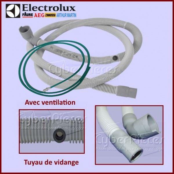 tuyau de vidange electrolux 4055367462 pour tuyaux alimentation et vidange lave vaisselle lavage. Black Bedroom Furniture Sets. Home Design Ideas