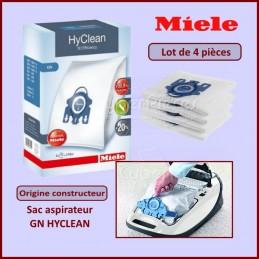 4 sacs pour aspirateur MIELE GN HYCLEAN 3d pour miele s 8730