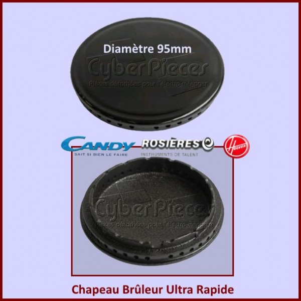 Chapeau Brûleur Ultra Rapide Candy 93596047