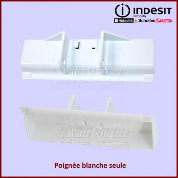 Poignée Blanche seule Indesit C00044653
