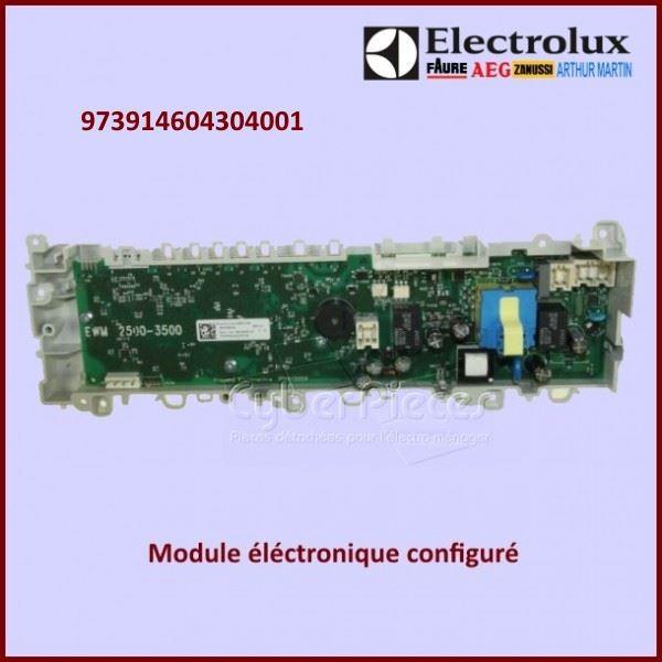 Module électronique configuré Electrolux 973914604304001