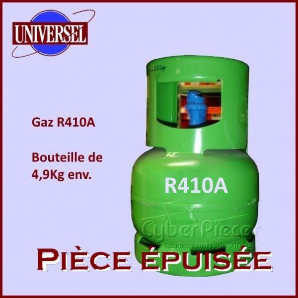 R410A Bouteille de 4,9kg Normalisée Rechargeable***Plus livrable***