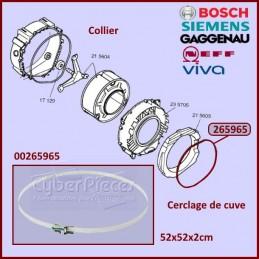 Collier de serrage de cuve Bosch 00265965 CYB-141901