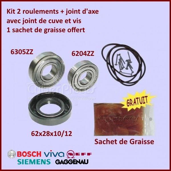 Kit palier + Joint de Cuve Bosch 00172685
