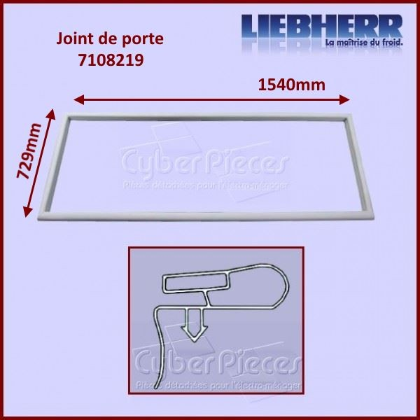 Joint de porte 1540x729mm Liebherr 7108219