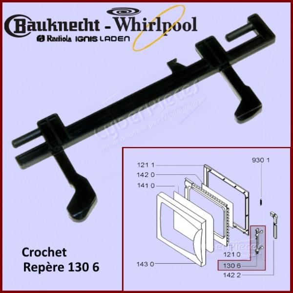 Verrou crochet de porte Whirlpool 480120100333