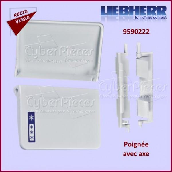 poign e de portillon avec axe liebherr 7430326 pour portillons refrigerateurs et congelateurs. Black Bedroom Furniture Sets. Home Design Ideas