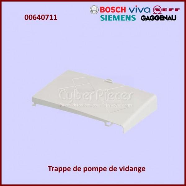 Trappe pompe de vidange Bosch 00640711