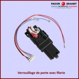 Verrouillage de Porte 70X1252 Brandt CYB-233927