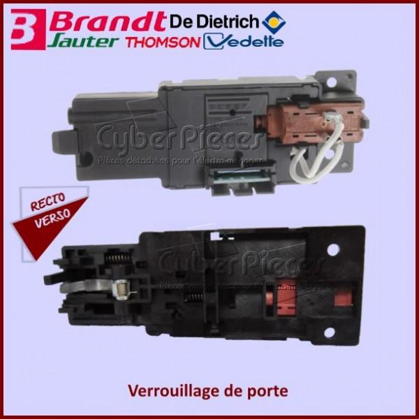 Verrouillage de porte sans filerie Brandt 72X6275