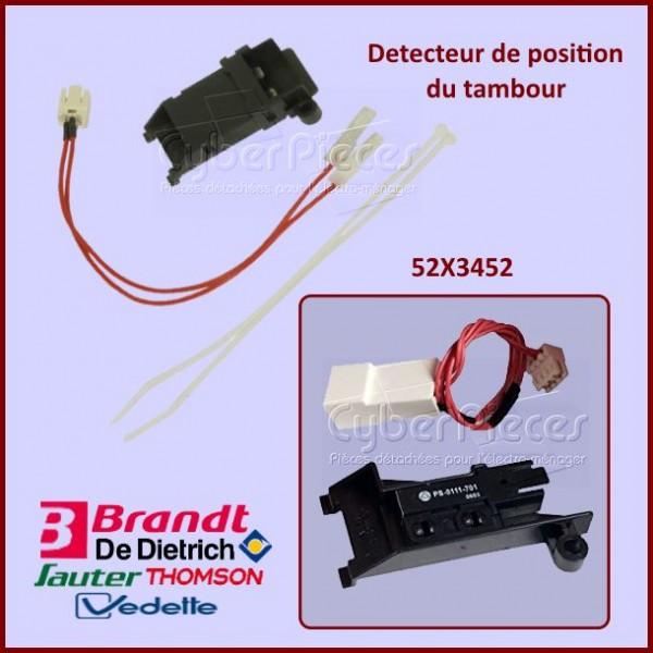 Détecteur de position de tambour Brandt 52X3452