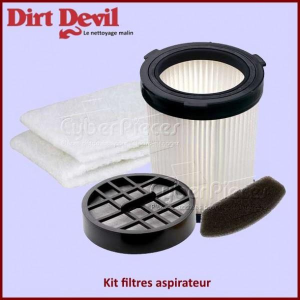 Kit 3 filtres aspirateur Dirt Devil 2610001