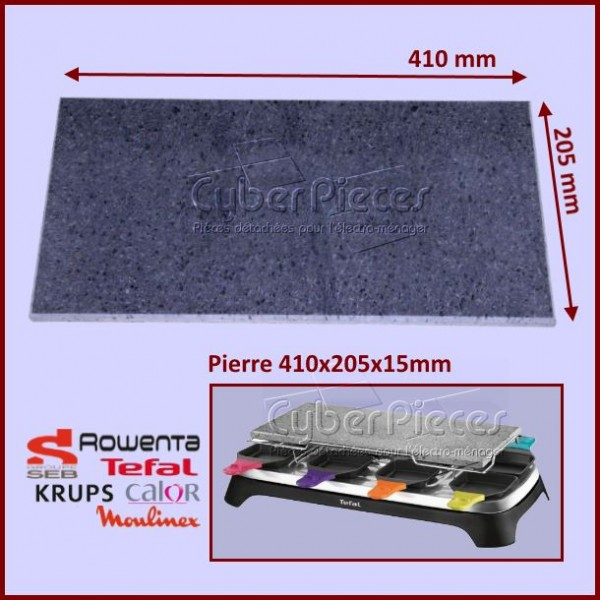 Plaque pierrade 410x205x15mm SEB TS-01015020