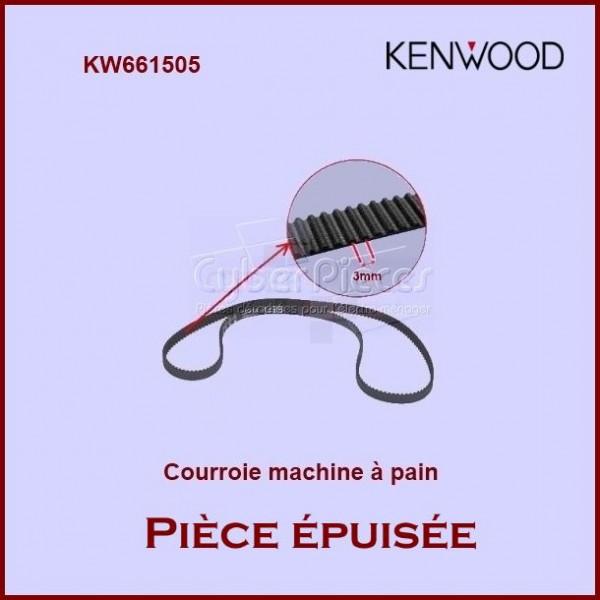 Courroie de machine à pain BM200 / BM258 - KW661505 **Piece epuisée**