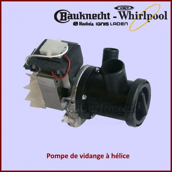 Pompe à helice Whirlpool 481936018146