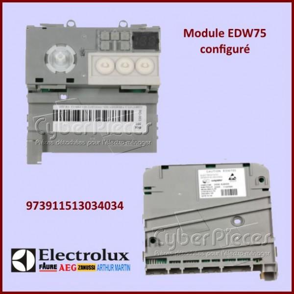 Module électronique configuré EDW750 Electrolux 973911513034034