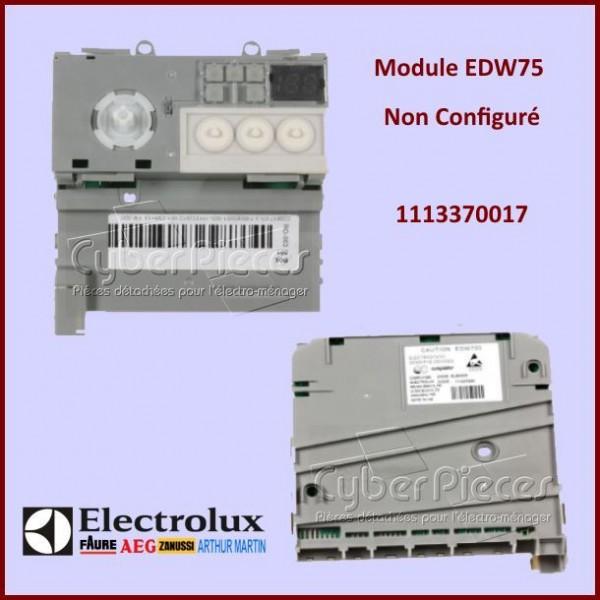 Module Electronique EDW750 non configuré Electrolux 1113370017
