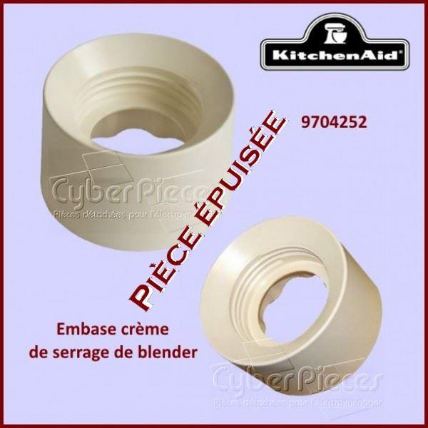 Embase de Serrage Crème Kitchenaid 9704252***Pièce épuisée***