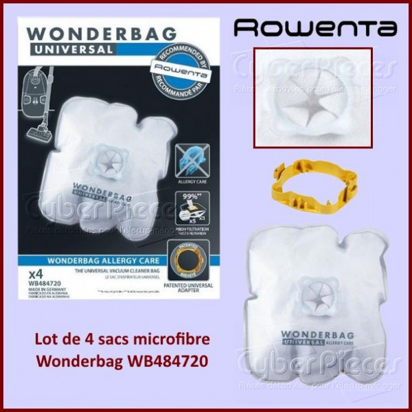 Sacs aspirateur Wonderbag ENDURA WB484720