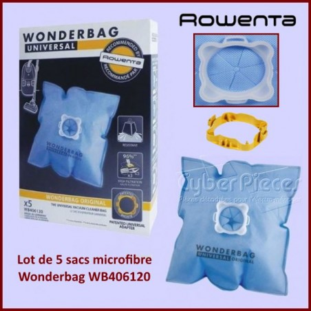 Sacs aspirateur Wonderbag CLASSIC WB406120