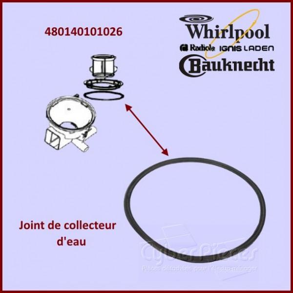 Joint de collecteur d'eau Whirlpool 480140101026