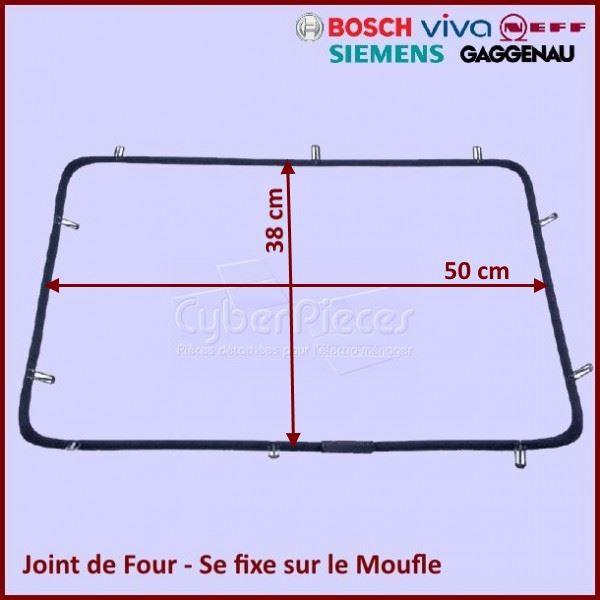 Joint de Four tressé Bosch 00491638