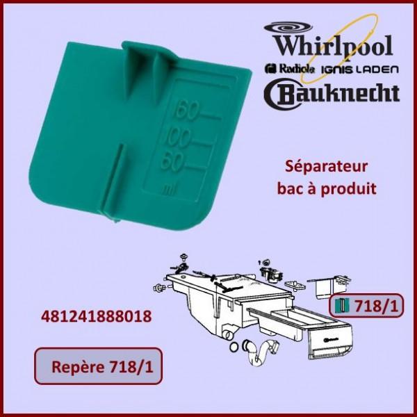Séparateur bac à produits Whirlpool 481241888018