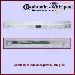 Bandeau avec carte Whirlpool 481245310256 CYB-194600