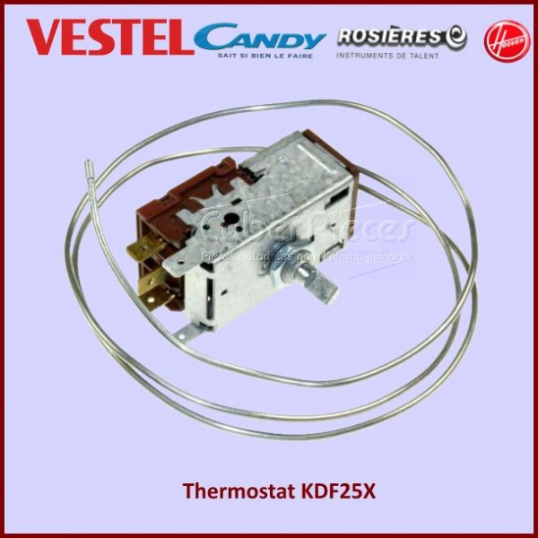 Thermostat KDF25X Candy 49030778 / 32015619/ 49030778