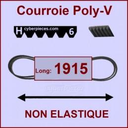 Courroie 1915H6 non élastique