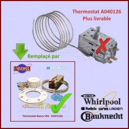 Thermostat A040126 - K54L1803 - 481927128766 GA-202381