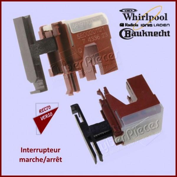 Interrupteur Whirlpool 481941028998