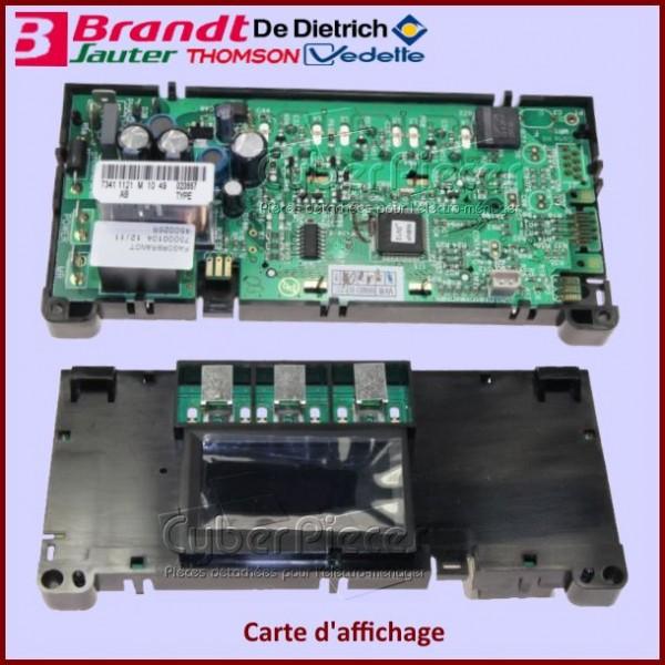 Carte d'affichage Brandt 72X0923