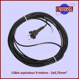 Câble aspirateur 9 mètres - 2x0,75mm² CYB-217880