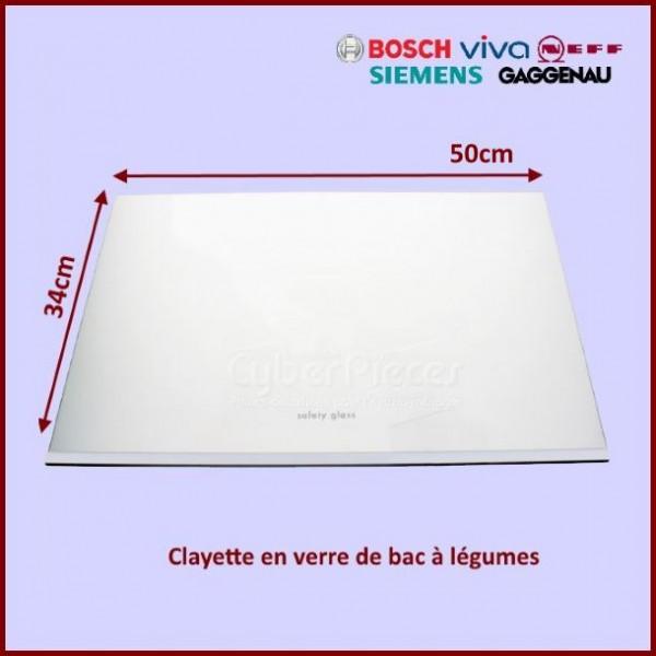Vitre de bac à légumes Bosch 00675081
