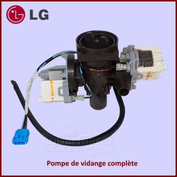 pompe de vidange compl te lg 5859er1002m pour pompe de vidange machine a laver lavage pieces. Black Bedroom Furniture Sets. Home Design Ideas