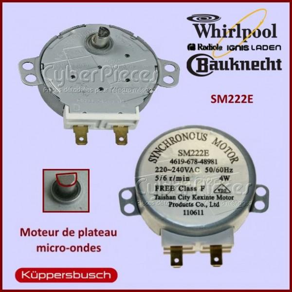Moteur SM222E Whirlpool 481067848981