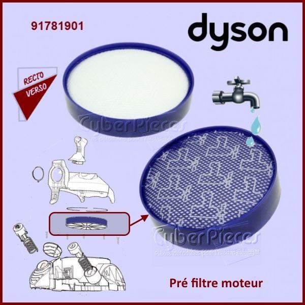 filtre pr moteur dyson 91781901 pour aspirateur petit. Black Bedroom Furniture Sets. Home Design Ideas