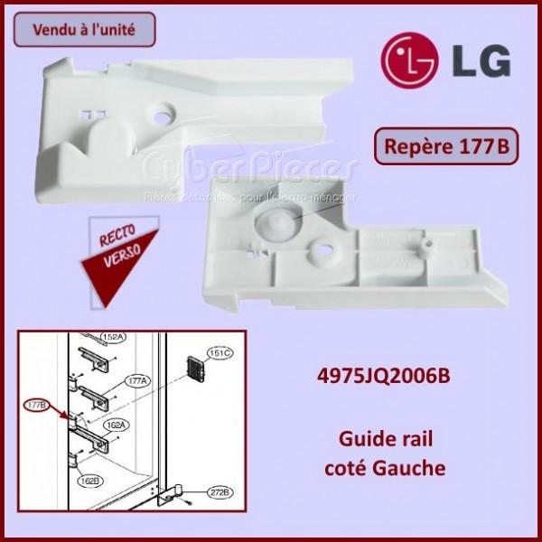 Guide rail assemblé Gauche LG 4975JQ2006B