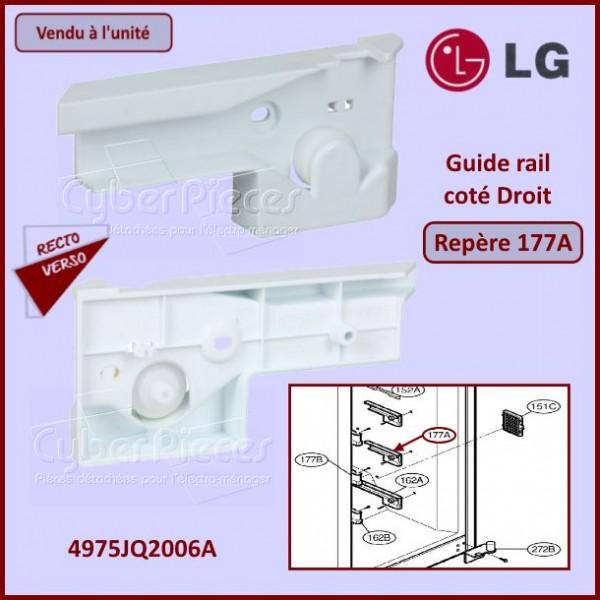 Guide rail assemblé Droit LG 4975JQ2006A