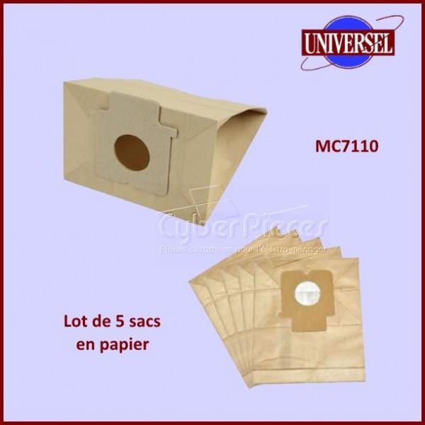 Sac papier MC7110 équivalent NA155-MW