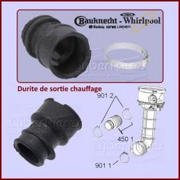Durite de sortie chauffage Whirlpool 480140102282 CYB-008372