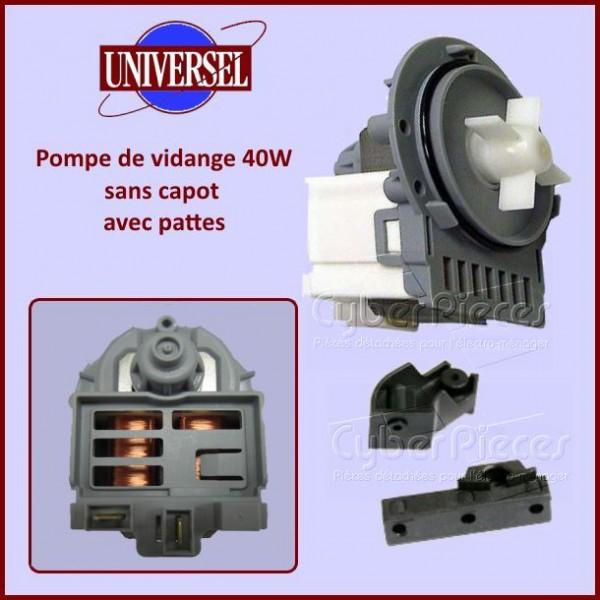 Pompe de vidange universelle 40W avec pattes