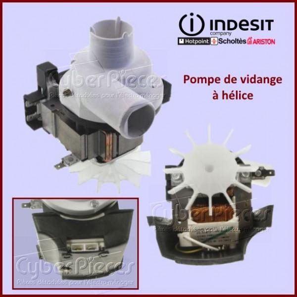 Pompe de vidange a helice INDESIT C00027882