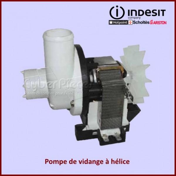 Pompe de vidange a helice INDESIT C00023868