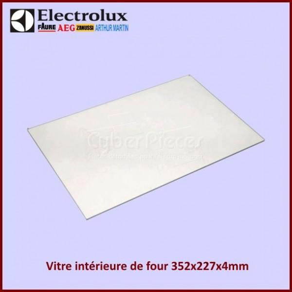 Vitre intérieure de four 352x227x4mm Electrolux 6010007133