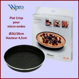 Plat CRISP Diam 28cm Wpro 480131000082 CYB-176873