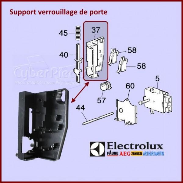 Support de verrouillage porte Electrolux 3370748026