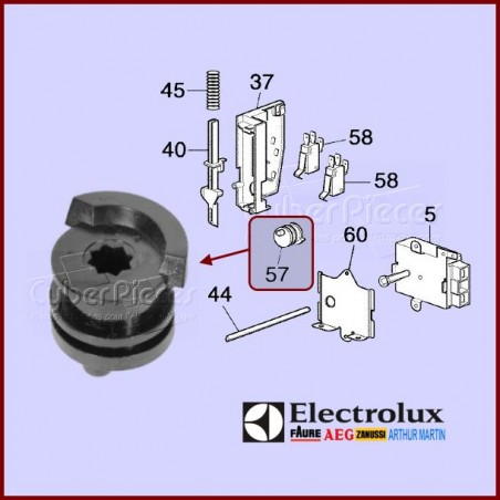 Came de verrouillage Electrolux 3370780011